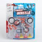 """Модель мотоцикла """"Finger Wheels"""" со сменными колёсами, МИКС"""