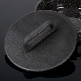 Крышка-пресс 24х4 см под сковороду-гриль