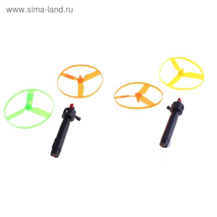 Вертушка (набор 1 ручка+2 вертушки), цвета МИКС
