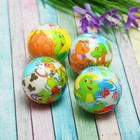 "Soft ball ""birds, animals"", MIX colors"