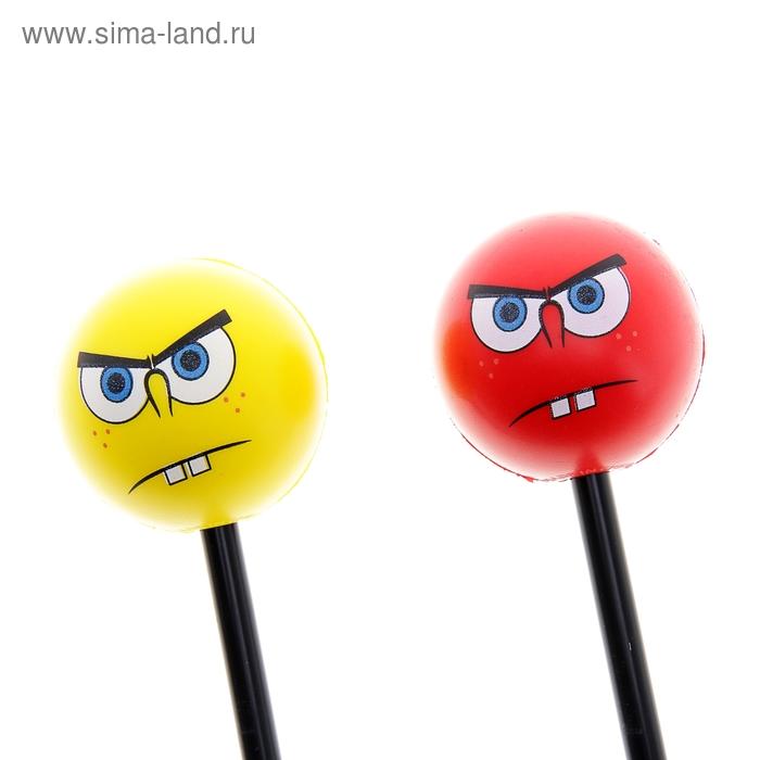 """Палка-антистресс """"Смайл задумался"""", цвета МИКС"""