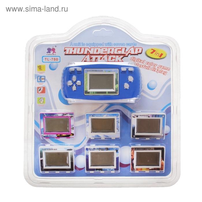 Электронная игра TL-780, 7 игр, цвета МИКС
