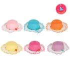 Карнавальная шляпка на резинке цвета микс 9*29*29 р-р 50-52 2-5 лет