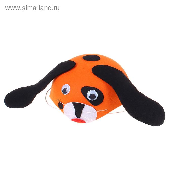"""Шляпа """"Собака"""", два цвета, на резинке, цвета МИКС"""