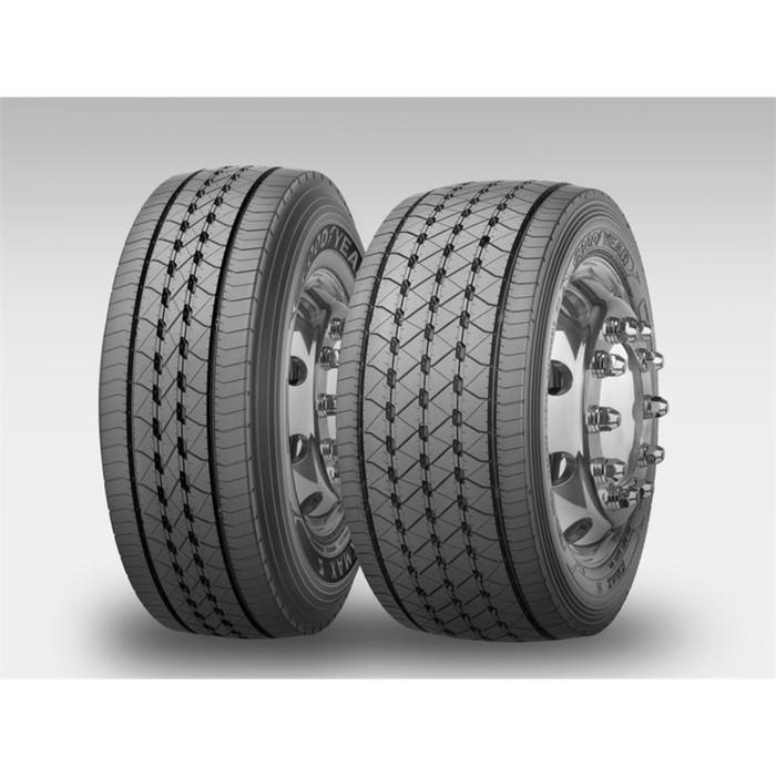 Грузовая шина Goodyear KMAX S HL 295/80R22.5 154/149M TL Рулевая региональная M+S