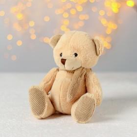 Мягкая игрушка «Мишка», в шарфике букле, цвета МИКС