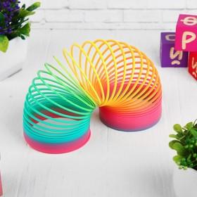 Пружинка-радуга «Матовая», в сетке