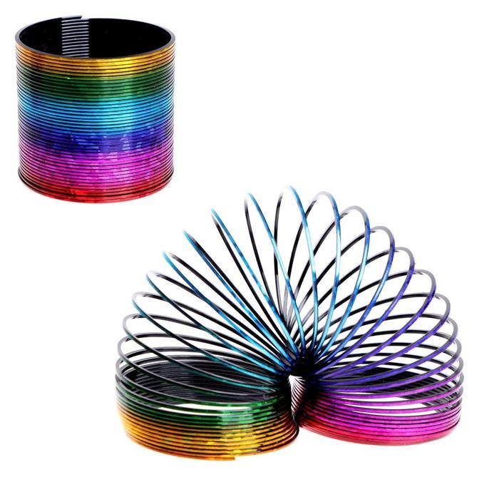 Пружинка-радуга «Голография»