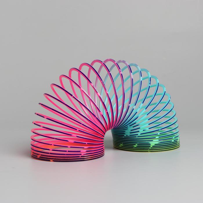 Пружинка-радуга «Звёздочка»