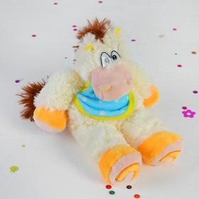 Мягкая музыкальная игрушка 'Лошадь-лялька в передничке' Ош