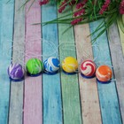 The rubber ball on elastic band, MIX color