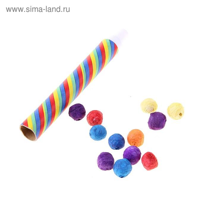 Дудка-стрелялка с шариками