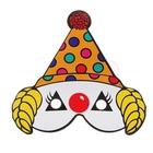 """Маска """"Клоун-фокусник"""", разные виды, набор 6 шт."""