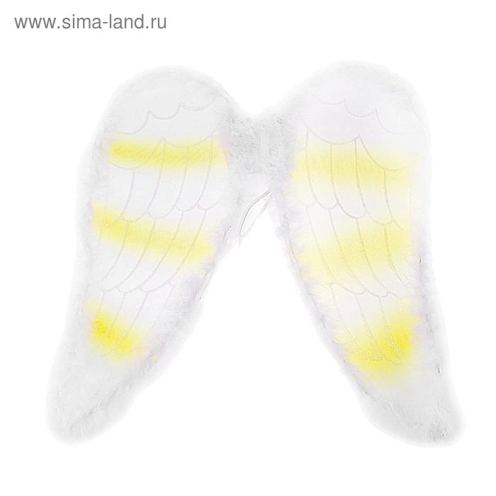 """Карнавальные крылья """"Лебедь"""", цвета МИКС"""