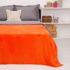 """Покрывало постельное """"Павлина""""  оранжевый ,150 х 200 см, аэрософт 190гр/м2, пэ100%"""