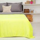 """Покрывало постельное """"Павлина"""" Неон желтый, 150 х 200 см  аэрософт 190гр/м2, пэ100%"""