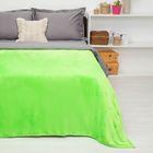 """Покрывало постельное """"Павлина"""" Неон зеленый, 150 х 200 см аэрософт 190гр/м2, пэ100%"""