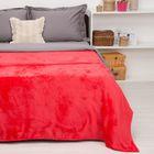 """Покрывало постельное """"Павлина"""" Неон красный, 150 х 200 см аэрософт 190гр/м2, пэ100%"""