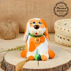 Копилка, ковровская глиняная игрушка «Собака»