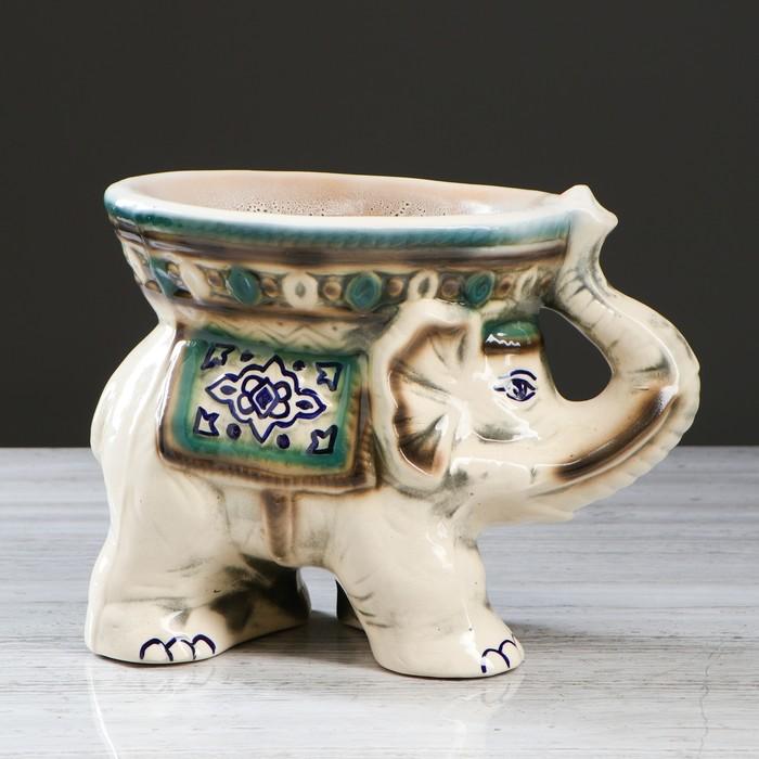 "Конфетница ""Слон"", 23 см, микс - фото 797855504"
