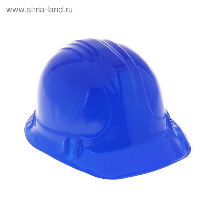 Карнавальная каска синяя