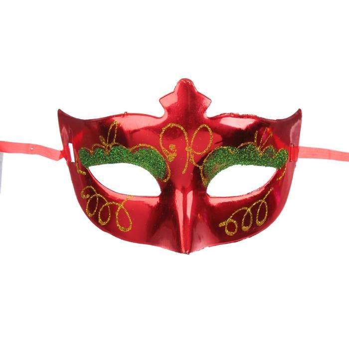 Карнавальная маска «Девушка», цвета МИКС - фото 457502