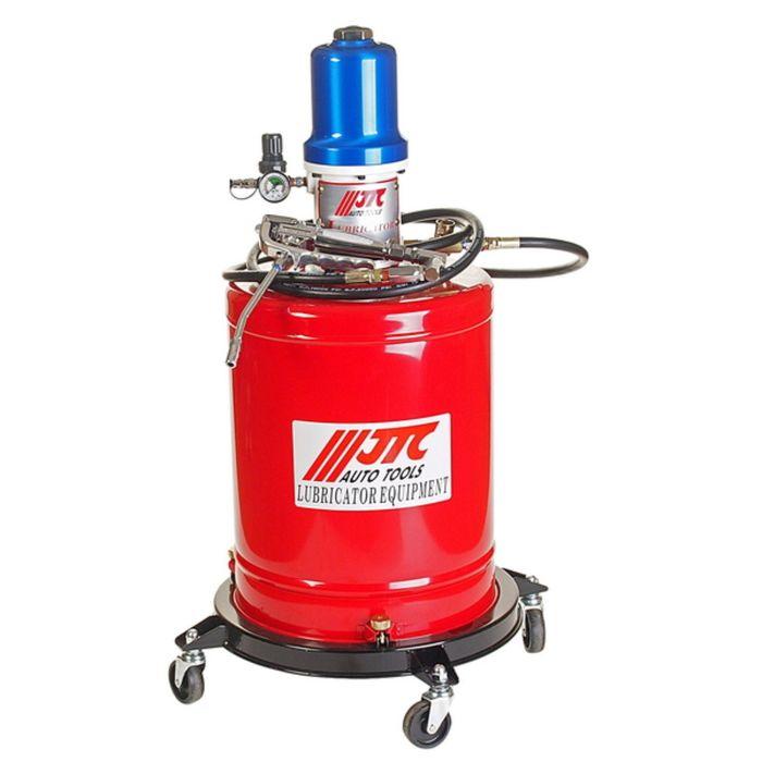 Установка для подачи смазки JTC, пневматическая, емкость бака 20 л