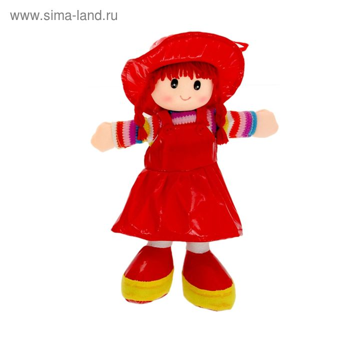 Мягкая игрушка Кукла в сарафане, цвета МИКС