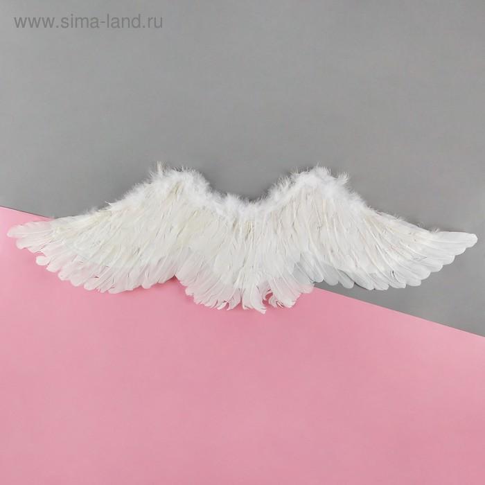 """Карнавальные крылья ангела """"Белый лебедь"""""""