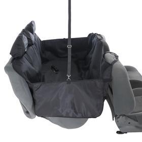 Гамак суперусиленный, трехслойный, ПВХ 600: защита дверей, растяжка в салон, 5 чехлов подголовников - фото 7394419