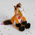 "Мягкая игрушка-присоска ""Лошадь"" на грудке три цветка, цвета МИКС"