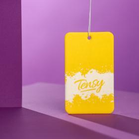 Ароматизатор подвесной Tensy картонный, Морозное утро TA-14 - фото 7554093