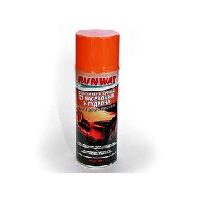 Очиститель кузова RunWay, от насекомых и гудрона, аэрозоль, 450 мл