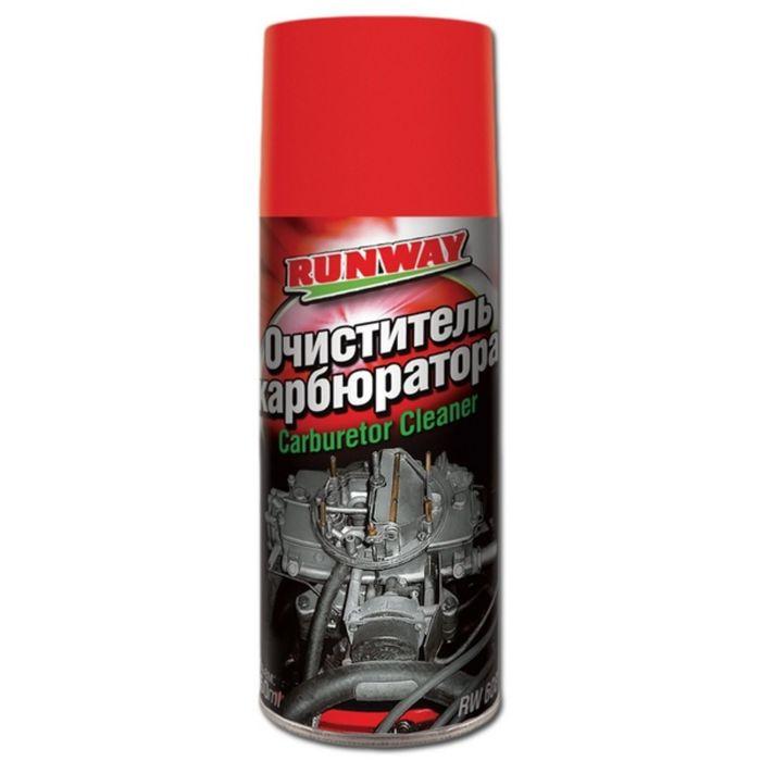 Очиститель карбюратора 450мл аэрозоль RunWay