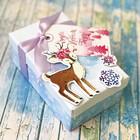 Коробка подарочная «Волшебный праздник», набор для создания, 22 × 30 см
