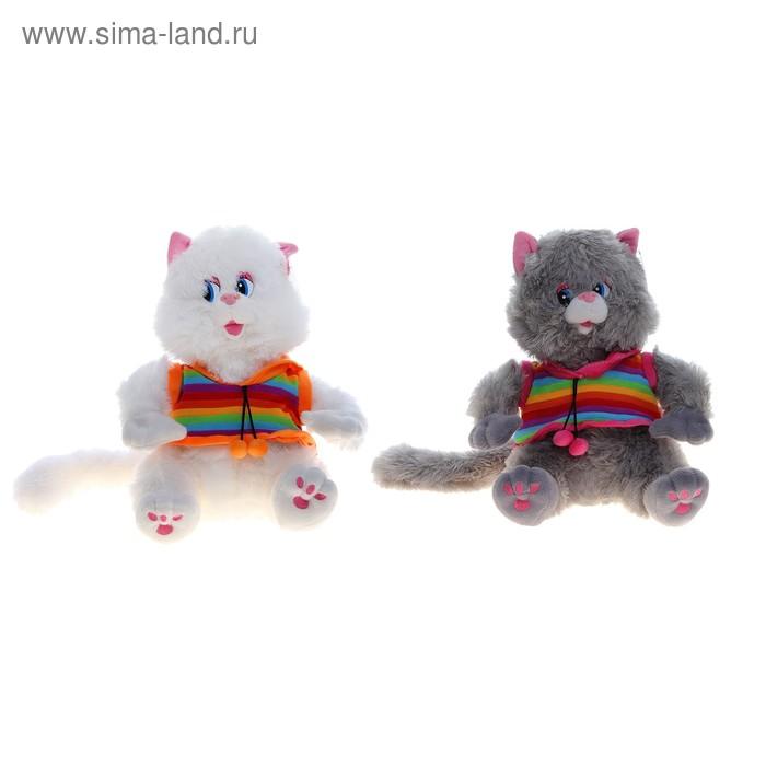 """Мягкая игрушка """"Кот в полосатой майке"""", цвета МИКС"""