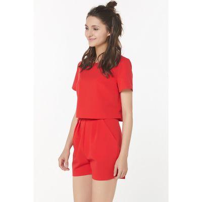 Топ женский, размер 42, цвет красный 270-03