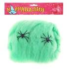 Прикол «Зеленая паутина», 2 паука