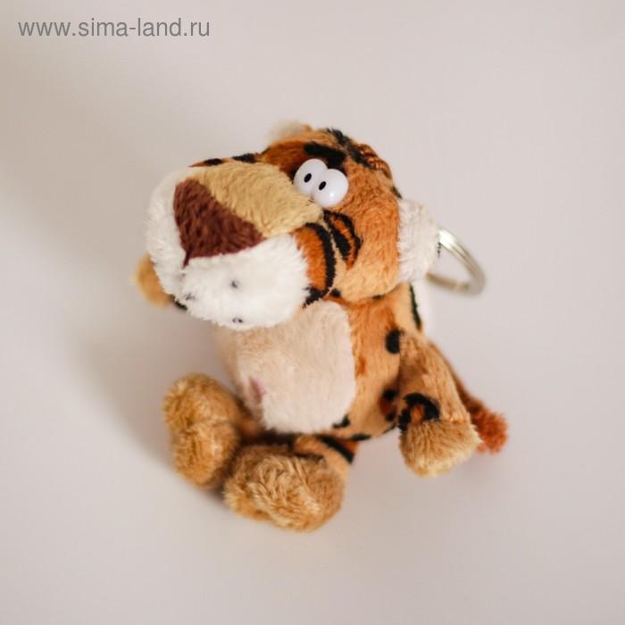 """Мягкая игрушка-брелок """"Леопард"""" в коробочке"""