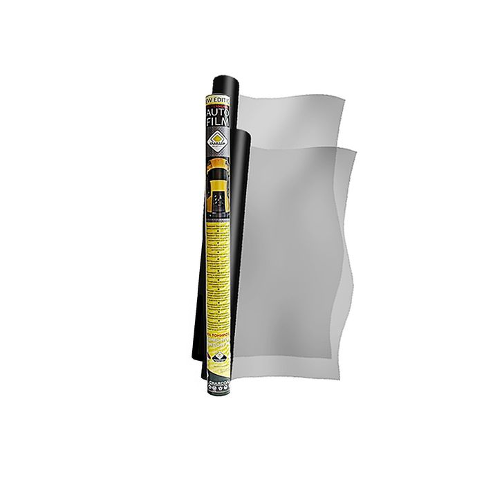 """Пленка тонировочная """"ГЛАВДОР"""" 2 в 1 комплект 10% (0.5м х 3м + 0.75м х 3м)"""