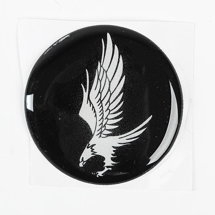 """Наклейка на колесный диск """"ГЛАВДОР"""" Орел, 58 мм, набор 4 шт."""