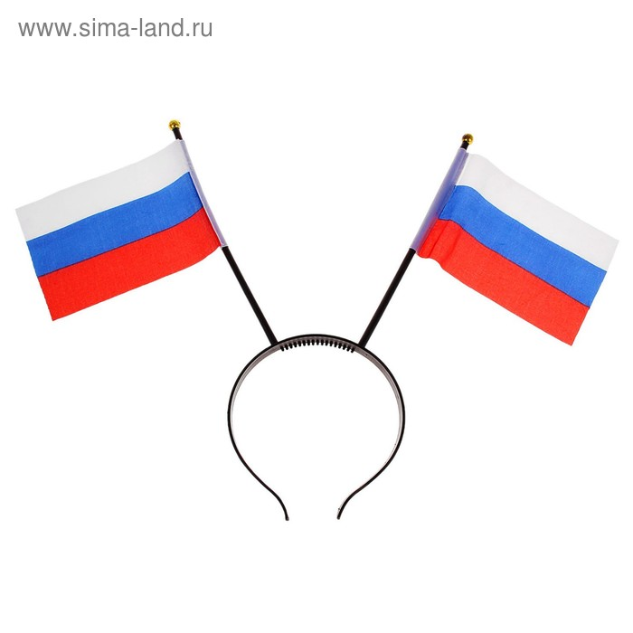 """Bezel with flags """"Russia"""""""