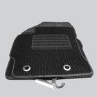 """Коврик в салон для Nissan Pathfinder III 2005-2010 (3й ряд), 1 шт., текстиль """"Robust-Lux"""", черный"""