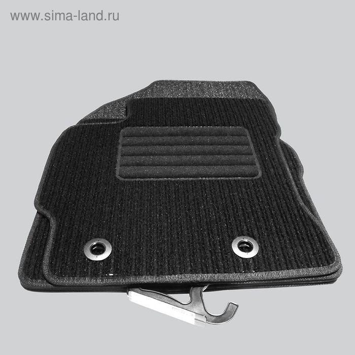 """Коврик в салон для Nissan Pathfinder III 2010-2014 (3й ряд), 1 шт., текстиль """"Robust-Lux"""", черный"""