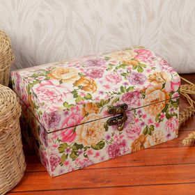 Jewelry box wood lacquer
