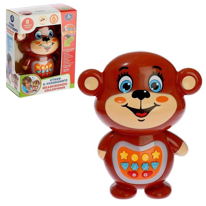 Развивающая игрушка «Медвежонок-сказочник», воспроизводит 8 сказок К. Чуковского - фото 1744947