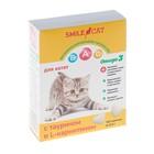 Витамины Smile Cat для котят с таурином и L-карнитином, 100 таб