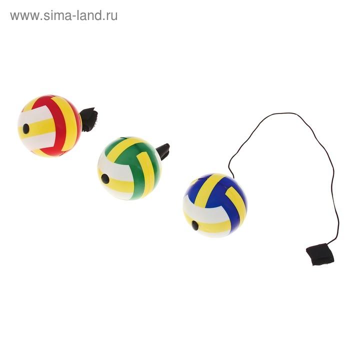 """Мяч на резинке """"Волейбол"""", цвета МИКС"""