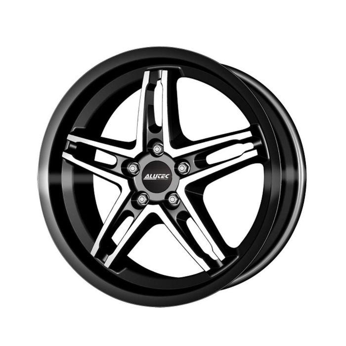 Диск литой Alutec PoisonCup 8,5x19 5x120 ET35 d72,6 Diamond Black Front Polished
