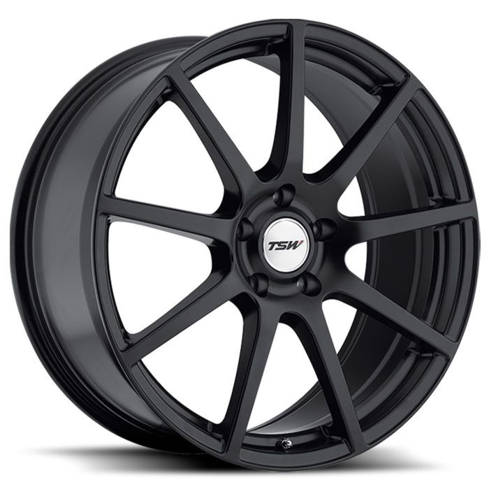 Диск TSW Interlagos 7,5x18 5x114,3 ET45 d76 Matt Black (1875INT455114M76)